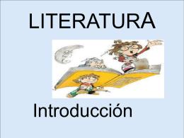 LITERATURA - lclana | Mi blog de Lengua y Literatura