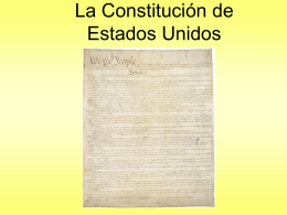 The Constitution - Peoria Public Schools / Overview
