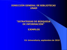 "MODULO III ""RECUPERACION DE INFORMACION"" Q.F.B. …"