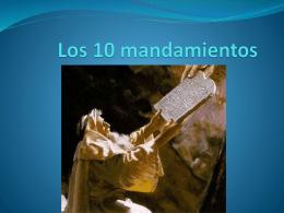 Los 10 mandmientos