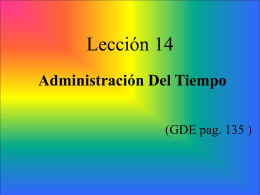 Prelude - Escuela Teologica Misional & Ministerial
