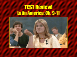 Ch. 15-17 TEST Review! Russia & the Republics