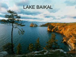 LAKE BAIKAL - Powerpoint Presentations for teachers