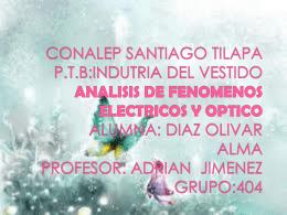 CONALEP SANTIAGO TILAPA P.T.B:INDUTRIA DEL …