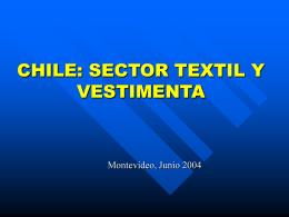 Reglas de Origen Textiles Acuerdo Chile