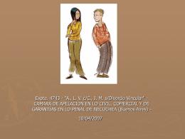 Expte. 4743 - 'A., L. V. c/C., J. M. s/Divorcio Vincular