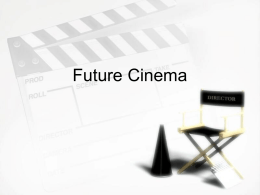 Cinema - Cityarts