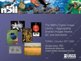 The NBII's Digital Image Library