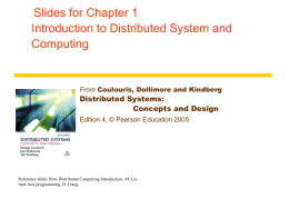 Figure 15.1 A distributed multimedia system