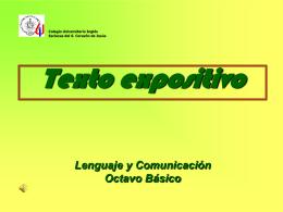 Texto expositivo - palabrasqueseevaporan