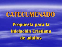 CATECUMENADO
