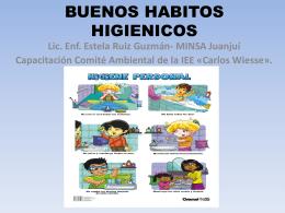 BUENOS HABITOS HIGIENICOS