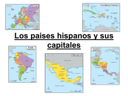 Los paises hispanos y sus capitales