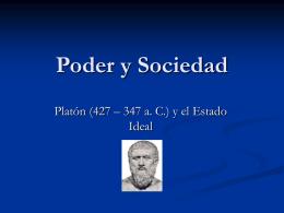 Poder y Sociedad