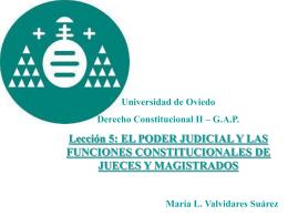 PODER JUDICIAL - OpenCourseWare de la Universidad de …