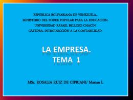 REPUBLICA BOLIVARIANA DE VENEZUELA.. MINISTERIO …