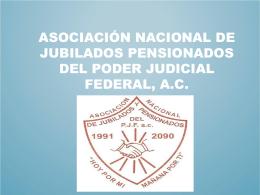ASOCIACION NACIONAL DE JUBILADOS PENSIONADOS …