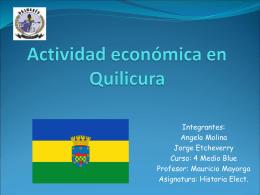 Activivdad economica en Quilicura