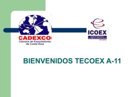 Diapositiva 1 - CADEXCO Costa Rica