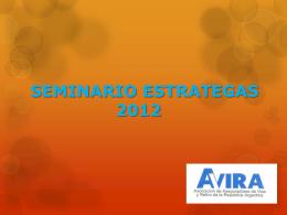 ESCENARIO 2012 DEL MERCADO DE SEGUROS DE …