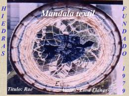 Mandalas textiles