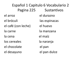 Espanol 1 Capitulo 2 Vocabulario 1 Describing People
