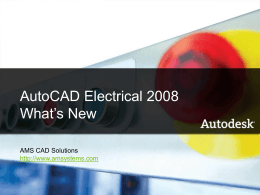 AutoCAD Electrical 2008 (JIC)