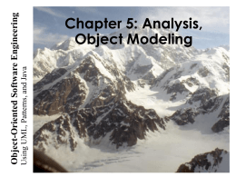 Object Modeling - Bilkent University
