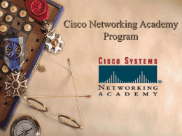 The Cisco Networking Academy Program