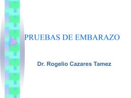PRUEBAS DE EMBARAZO