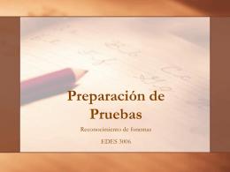 Preparacion de Pruebas - fjrp69