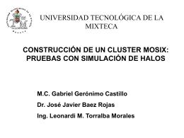 CONSTRUCCION DE UN CLUSTER EN LINUX