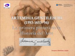 Artemisia Gentileschi -(1593-1653/56) La primera pintora