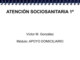 Concepto - Apoyo Domiciliario