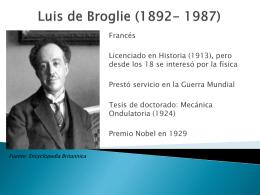 Luis de Broglie (1892