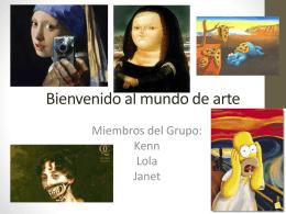 Bienvenido al mundo de arte