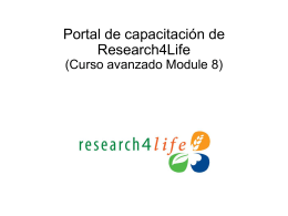 Research4Life Update