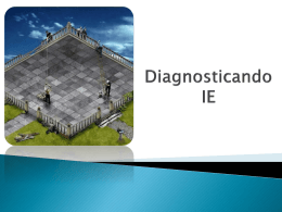 Diagnosticando IE