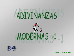 AG2- Adivinanzas modernas -1