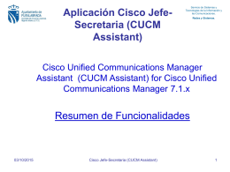 Cisco Enterprise Assistant Console for dummies