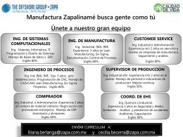 OPERADOR CNC ESCOLARIDAD: TECNICO MAQUINAS …