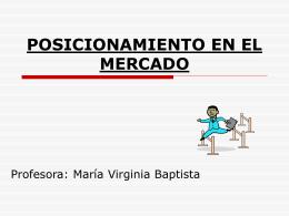 POSICIONAMIENTO EN EL MERCADO