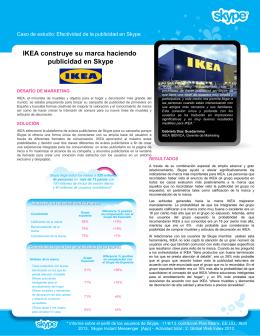 Skype Ikea Case Study 2 page version (GA, BR, CA, JP, US