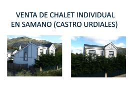 VENTA DE CHALET INDIVIDUAL EN SAMANO (CASTRO …