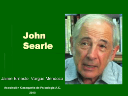 John Searle - Conductitlan