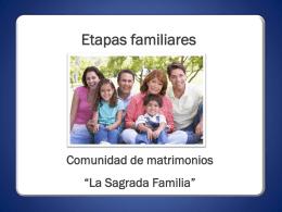 Diapositiva 1 - Comunidad de Matrimonios