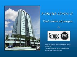 P.H. PARQUE LINDO II