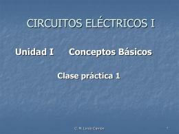 Unidad II Circuitos Resistivos