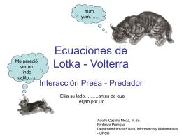 Ecuaciones de Lotka