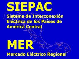 Proyecto SIEPAC